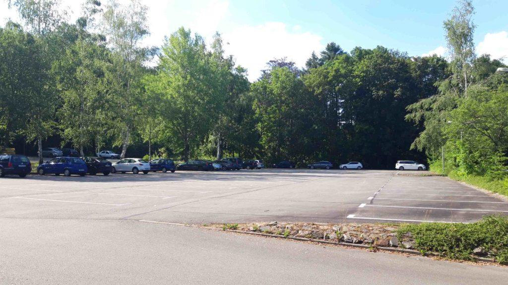 Parkplatz Freibad Erdmannsdorf